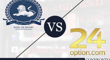 Banc de Binary VS 24Option: quale scegliere e perché?