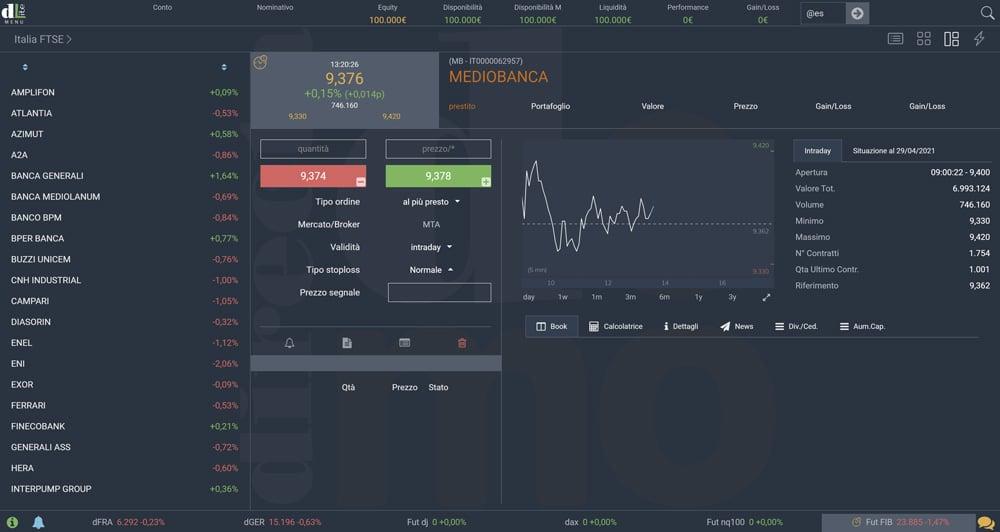 directa dlite piattaforma trading